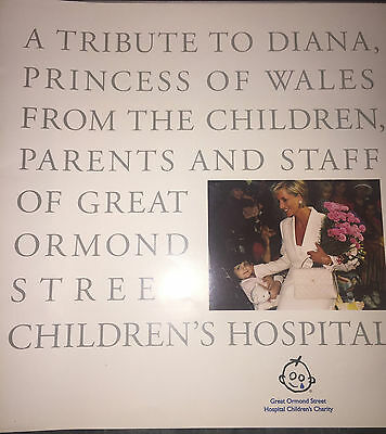 Princess Diana Great Ormond St Children's Hospital Tribute Photos Uk Only