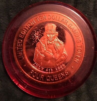 Four Queens Silver Strike - Red Cap 4th Of July