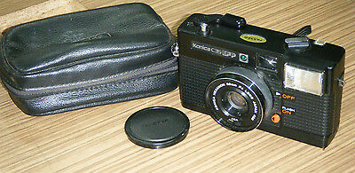 Vintage Konica C35 EFP Point & Shoot Film Camera