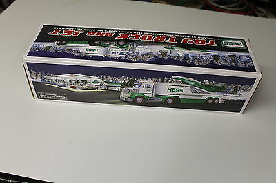 2010 HESS Toy Truck and Jet New in Box  Free C Batteries