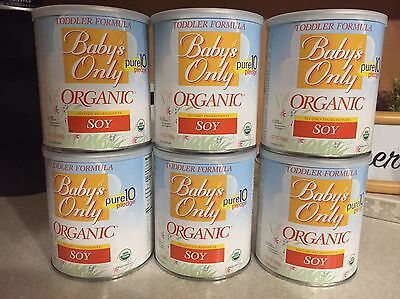 Natures One: Babys Only Organic Soy Iron Fortified Toddler Formula 6 X 12.7 Oz