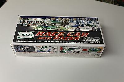 2009 Hess Toy Truck Race Car and Racer With ORIGINAL HESS BATTERIES