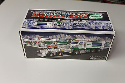 2008 Hess Toy Truck and Front Loader New In Box  Free C Batteries