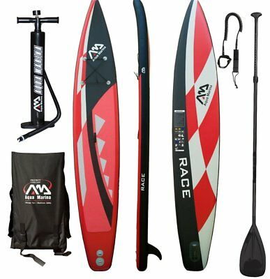 AQUA MARINA RACE SUP inflatable Stand Up Paddle Surfboard Model 2016