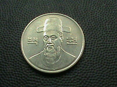 SOUTH  KOREA    100  Won    1988