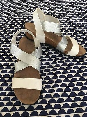 Women's Supportive Shoes, Sandles , Wedge Summer Shoe Size 38 Or 7