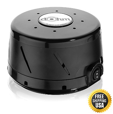 Marpac Dohm-DS All-Natural White Noise Sound Machine Black
