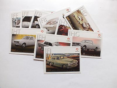 Kryptyx Holden Trade Cards X 10 Mint