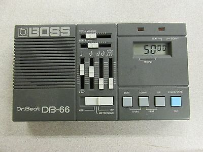 Boss Dr Beat DB-66 Metronome 100% tested