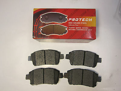 Protech Front Semi Metallic Brake Pads Fit 1998-2003 CADILLAC SEVILLE PMD753