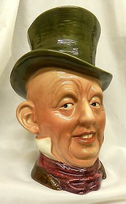 """Rare Beswick Micawber Character Toby Jug:Mk1 Model 310:9.5"""" high:Mint Condition"""