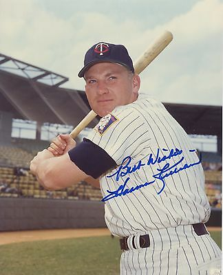 HARMON KILLEBREW Autographed Signed Color Photograph Baseball MLB Hall of Fame