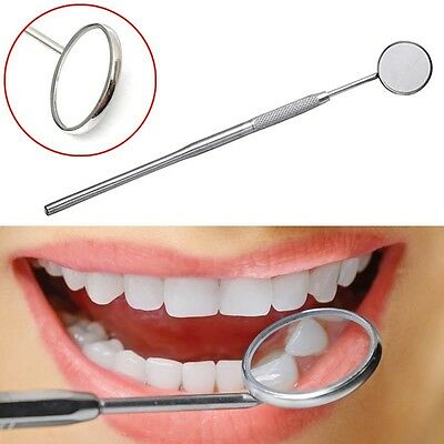 New Dental Mirror Dentist Handle Tool for Teeth Mouth Cleaning Inspection 1pc