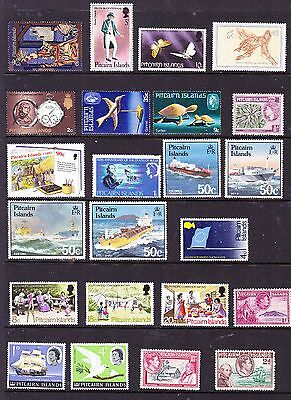 Pitcairn Island stamps - 23 MUH & MH