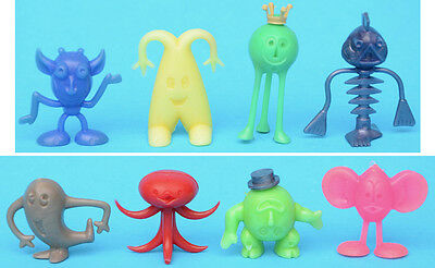 R&L CRATER CRITTERS full MINT set - Mexican with CROWN + HAT scarce colours