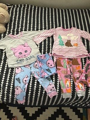 peter alexander Baby Size 1 Pjs Girls 2 sets