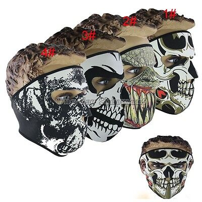 Ski Skull Outdoor Full Face Mask Sport Motorcycle Snowboard Winter Warmer Mask