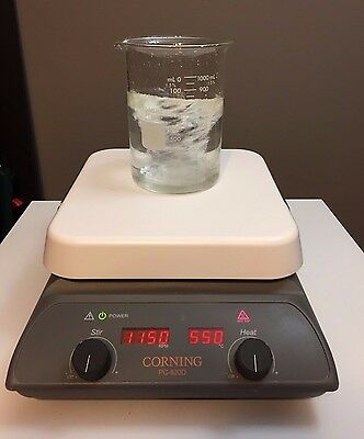 "Corning PC-620D Hot Plate Magnetic Stirrer Digital 10"" x 10"" 120V Stirring Clean"