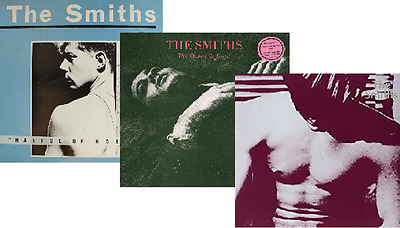 NEW SEALED Meat Is Murder - The Smiths - The Queen Is Dead 3 x VINYL Manchester