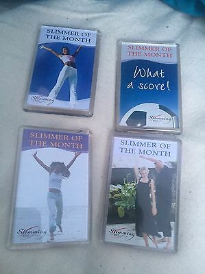 4 Slimming World Slimmer Of The Month Magnets Brand New