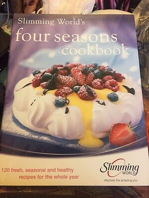 Hardback Slimming World Four Seasons Cookbook Brand New
