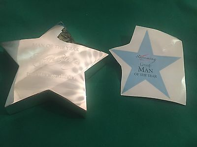 Man Of The Year Slimming World Award Brand New