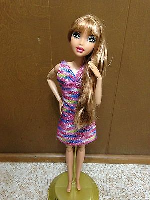 Barbie My Scene Nia Doll Strawberry Blonde Hair Bang Articulated Joint OOAK Rare