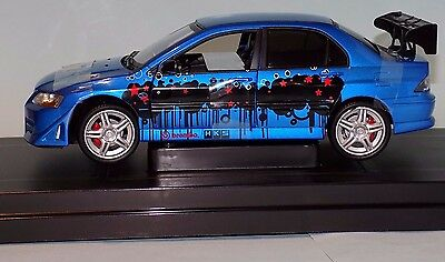 Mitsubishi Lancer Evolution Vii 2002 The Fast And The Furious Ertl 53607C 1:18