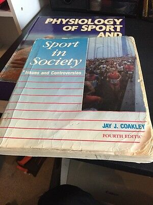 Sport in Society: Issues and Controversies by Jay J. Coakley (Paperback, 1989)
