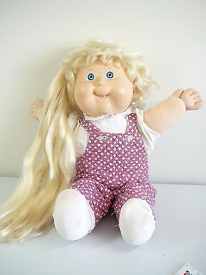 Cabbage Patch Magic Growing Hair Vintage  Doll Genuine Cpk Doll Coleco 1987