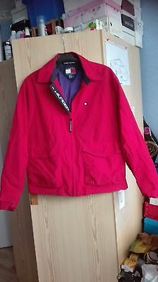blouson tommy hilfiger rouge taille S