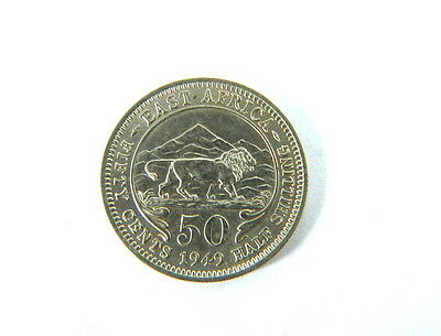 East Africa 50 Cents 1949
