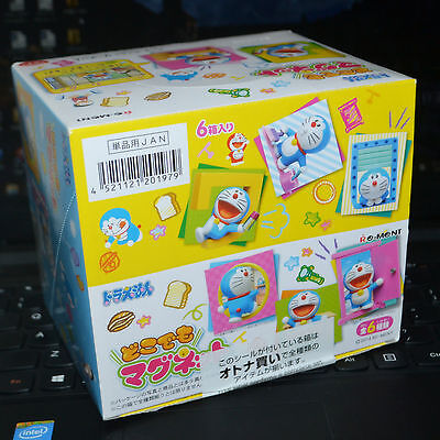 Re-ment Doraemon Magnet Miniature mini figure Full set of 6pcs gift