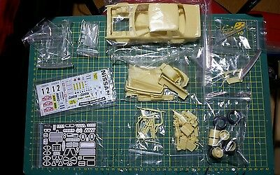 Maquette / Rally Resin Kit Car Nissan 240 Rs Monte Carlo  Modellingmaster 1/24