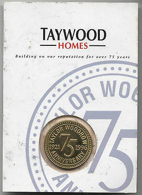 Taywood Homes 75th Anniversary Medal***Collectors***