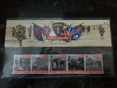 commemorative d-day stamps