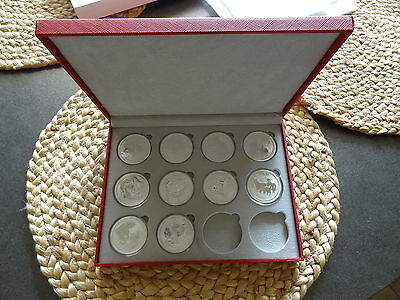 Australia Lunar Series II  1 oz 2008 - 2017 Set in Display Case * Ebay Bux *
