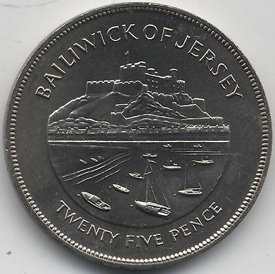 1977 Gibraltar 25 Pence***Collectors***(2)