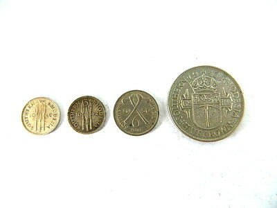 Southern Rhodesia 3 Pence 1940 and 1942 Plus Mixed Date Coin Lot