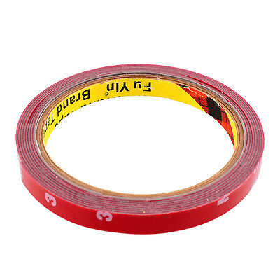New Strong Permanent 3M Double Sided Super Adhesive Tape Versatile Truck 10mm