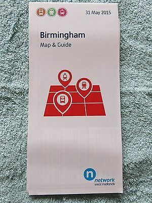 Network West Midlands Birmingham Transport Map & Guide, May 2015