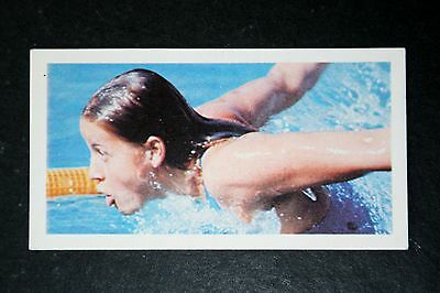 Swimming    Kornelia Ender   East Germany  GDR   Photo Card  VGC