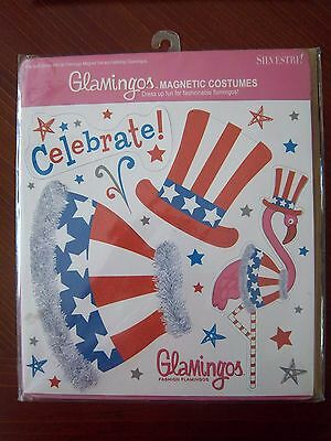 Silvestri  Glamingos Fashion Flamingo Magnetic Costume -in package - 4th of July