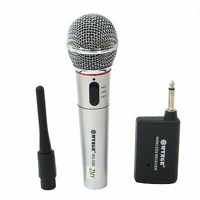 Microfono Wireless Con E Senza Filo At-309 Microphone