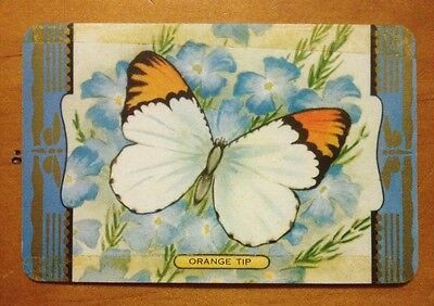 playing cards swap 1 x COLES Card - Butterfly . Tiger Swallowtail