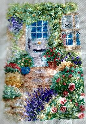 Completed Cross Stitch - Garden Glory