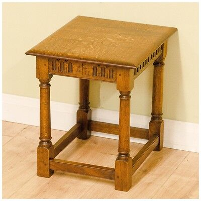 Peter Hall of Staveley Arts and Crafts Oak Side Table