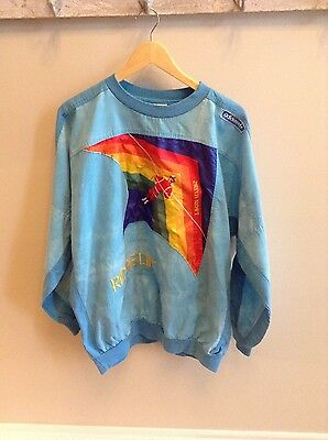 Vintage Adidas Hang Gliding sweatshirt- Ridgelift - T'Rose Flyers - Kelly Ridge