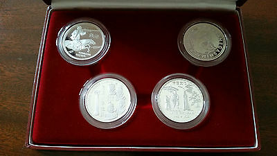 "Silver Set - ""Portugal Meets Japan"" - 4 Specially minted coins"