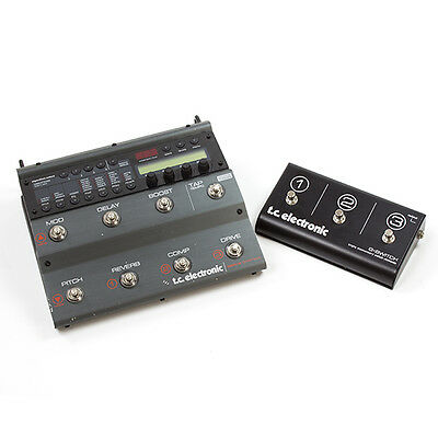 TC Electronic Nova System Guitar Effects FX Processor With G Switch